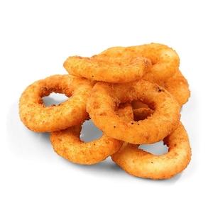 Луковые кольца с соусом барбекю (5 шт.)