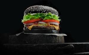 Фирменный черный бургер