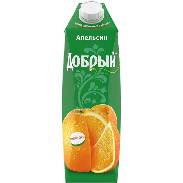 СОК ДОБРЫЙ АПЕЛЬСИН 1Л.