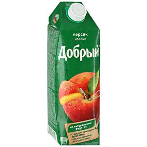 СОК ДОБРЫЙ ПЕРСИК 1Л.